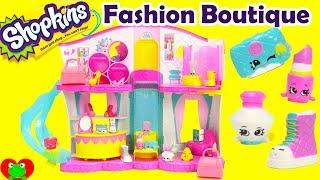 Shopkins Season 3 Fashion Boutique Playset with Exclusives