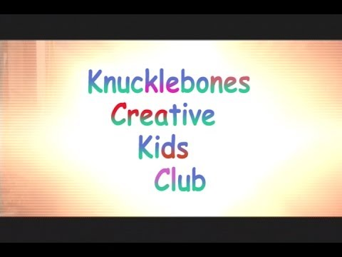 Knucklebones Creative Kids Club teaser