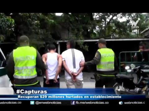 Desmantelan banda delincuencial que operaba en vía Cali - Buenaventura