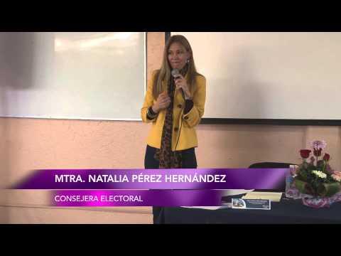 Natalia Pérez Hernández, Texcoco. La ética en la política.