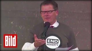 Gerd Müller (CSU) redet Englisch - Denglisch-Rede beim