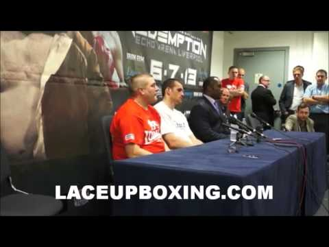 DAVID PRICE & LENNOX LEWIS/ POST FIGHT INTERVIEW