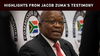 What Jacob Zuma said on day 1 of state capture testimony