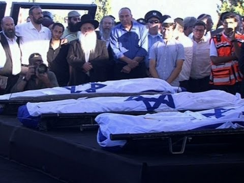 Funerals Held for Slain Israeli Teens