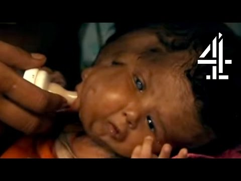 Baby with 2 faces - somali video