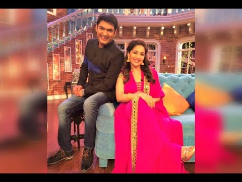 Madhuri Dixit In Comedy Nights With Kapil 24th May 2015