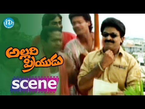 Allari Priyudu movie scenes - Rajashekar receives a letter from...