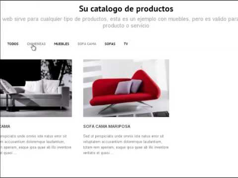 Crear catalogo