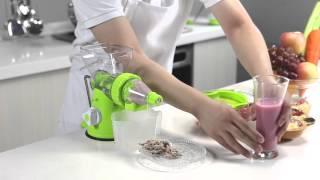 Manual Slow Juicer by Delitech
