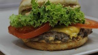 طريقة عمل برجر شيك شاك  How to Make Shake Shack Burger [En Subtitle]