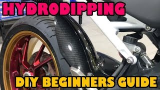 Hydro Dipping How to Beginners Guide.