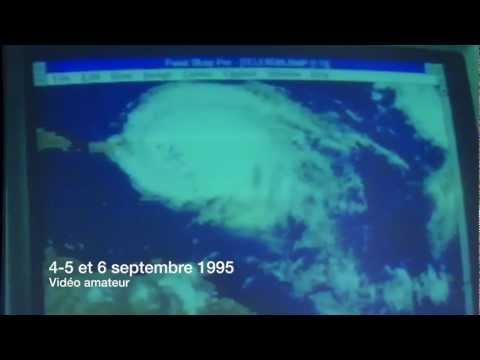 Cyclone Luis 1995 à St Barthélemy
