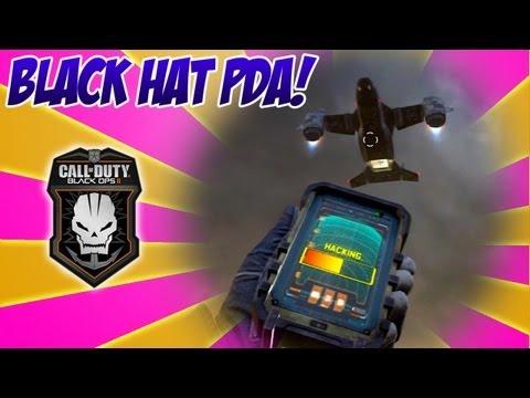 Black Hat Equipment SECRETS! How To Hack in Black Ops 2 (BlackHat PDA Hacking BO2 Tips and Tricks)