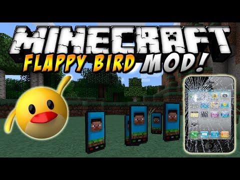 Minecraft - FLAPPY BIRD MOD! (Juega al flappy en Minecraft!) - ESPAÑOL TUTORIAL