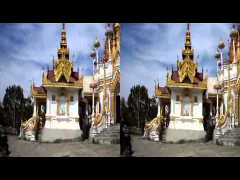 "Myanmar 3D Movie ""Pagoda from Taunggyi Hill"" Stereoscopic SXS Technology~1"