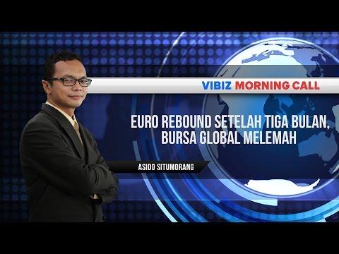 Euro Rebound Setelah Tiga Bulan, Bursa Global Melemah, Vibiznews 22 Juli 2015