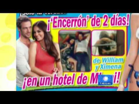 William levy y ximena navarrete people en espanol