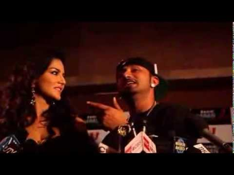 YoYO Honey Singh with Sunny Leon - Behind The Scene