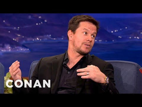 Mark Wahlberg & Conan Talk Boston Sports