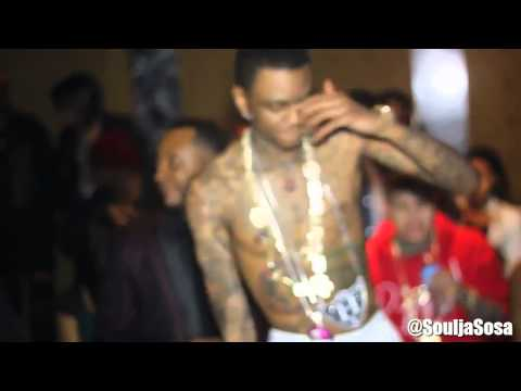Soulja Boy Live 2013 (Love Soulja, Molly Wit That Lean Etc..)