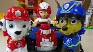 PAW PATROL- Puppies are Fishing, Funny Fishing Games for Kids, Toys Review for Children.