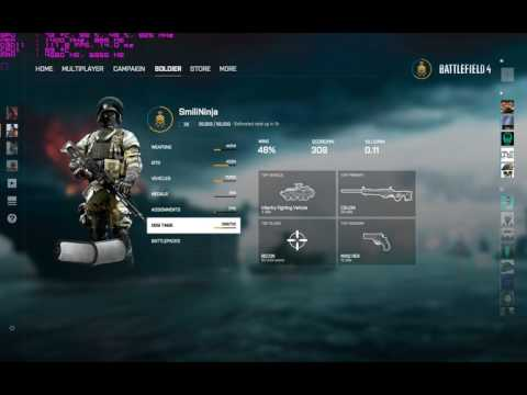 The new BF4 Landing page/Interface