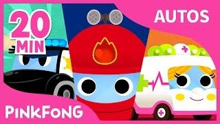 Las Mejores Canciones de Autos | +Recopilación | Pinkfong Canciones Infantiles