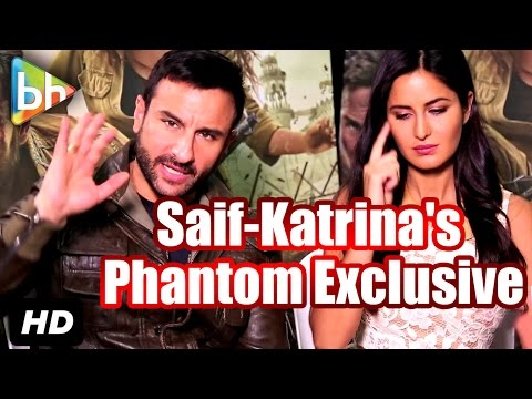 Exclusive: Saif Ali Khan | Katrina Kaif's Full Interview On Phantom | Rangoon | Fitoor