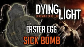 Dying Light Easter Eggs | SiCK BOMB Blueprint Location Tutorial