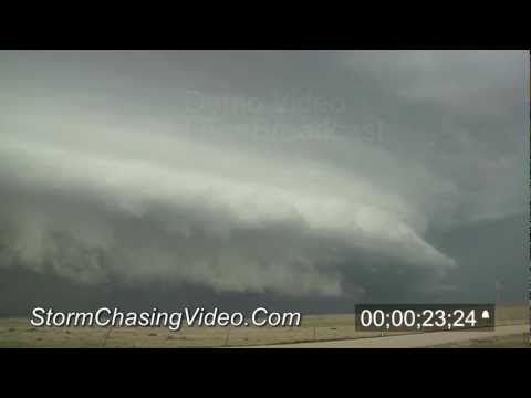 6/7/2012 Eastern, Colorado Storm Structure stock footage B-Roll