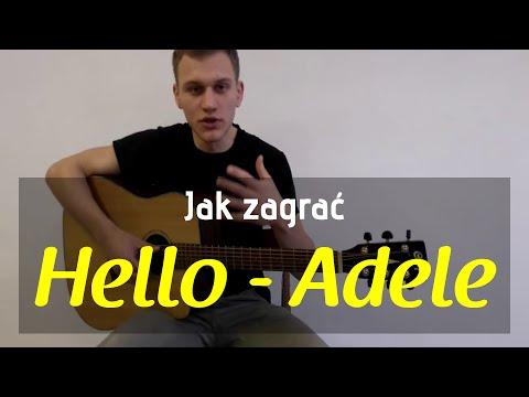 #2 Jak Zagrać Hello (Adele) Na Gitarze - JakZagrac.pl