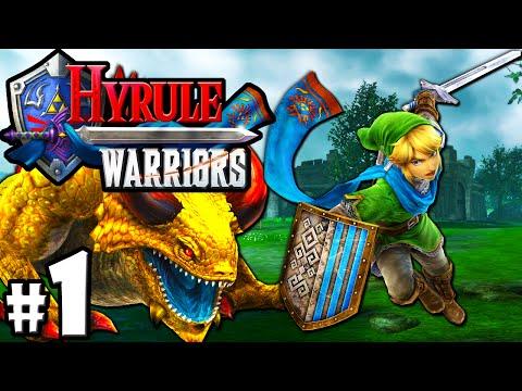 Hyrule Warriors: The Legend of Zelda Story PART 1 Link VS King Dodongo Boss! HD Gameplay Walkthrough