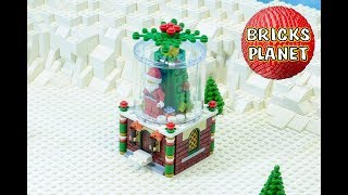 Snowglobe 40223 LEGO Limited Edition - Stop Motion Review