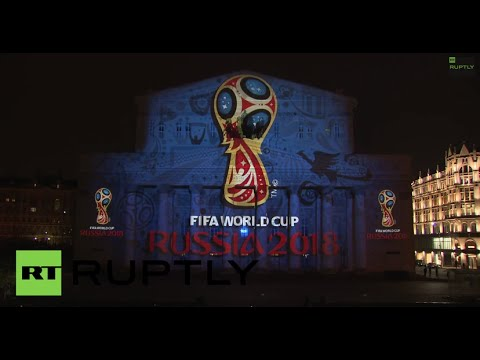 Russia: Watch the dazzling unveiling of the 2018 FIFA World Cup logo