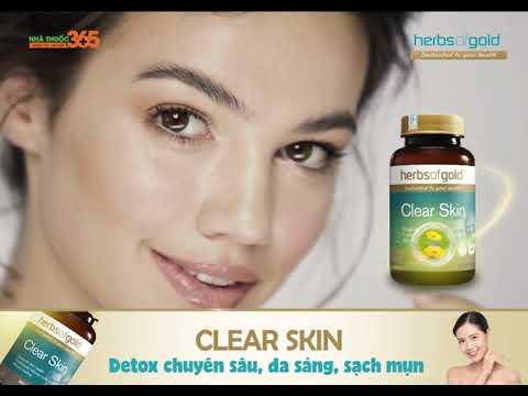 Clear Skin Detox chuyên sâu, da sang, sạch mụn