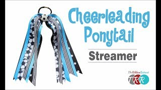 How to Make a Pony O Cheer Bow Streamer - TheRibbonRetreat.com
