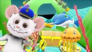 A Sailor Went To Sea | Kindergarten Nursery Rhymes & Songs for Kids | Little Treehouse S03E119