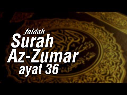 Faidah Surah Az-Zumar Ayat 36 - Ustadz Ahmad Zainuddin Al-Banjary
