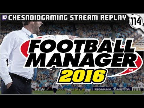 Football Manager 2016 | Stream Series Ep114 - UCL KNOCKOUT ROUND DRAW!!