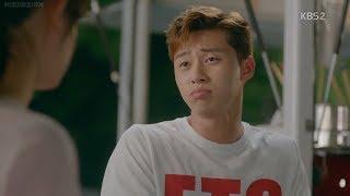 Park Seo Joon acts like cute Kim Ji Won