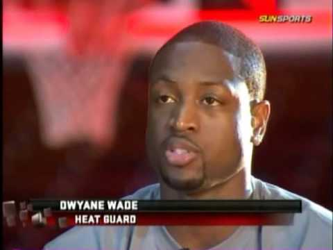 dwyane wade hair. Dwyane Wade - Inside the Heat