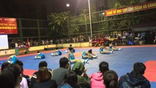 HaUI | Nhất cuộc thi Aerobic các trường đại học - khu vực Hà Nội