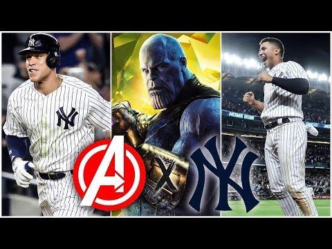 New York Yankees X Avengers: Infinity War Trailer (2018)