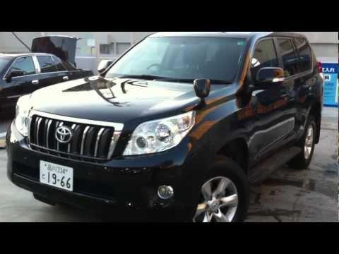 2012 Toyota Land Cruiser Prado TX 4ltr black - Tokyo Japan