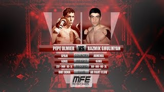 "MIX FIGHT - PEPE OLMIER vs RAZMIK ""EL CABALLERO"" GHULINYAN"