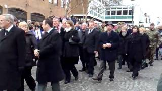 Sir Nat's funeral fans & ex players pay our respects 5