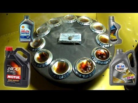 Какое масло лучше заливать в двигатель, тест нагревом часть 2