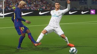 BARCELONA DO BINHO VS REAL MADRID DO CR7, FINAL EMOCIONANTE - PES 2018 - RUMO AO ESTRELATO #104