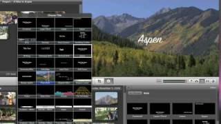 Apple Mac Tutorials - iMovie  09