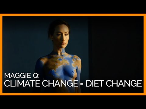 Maggie Q: Fight Climate Change With Diet Change video